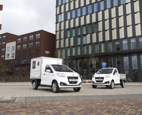 Regis Epic0 Van and Pick-Up electric vans