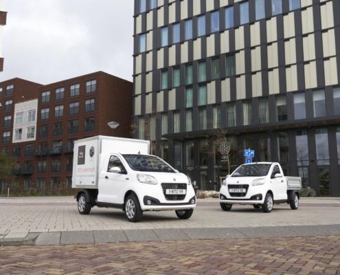 Regis Epic0 Van en Pick-Up elektrische bestelwagens