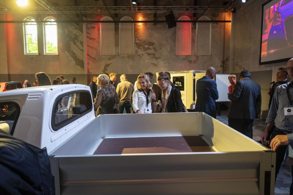 Regis Epic0 Pick-Up elektrische bedrijfswagen met open laadbak