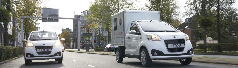 Regis Epic0 elektrische bestelwagens
